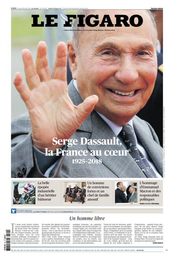Serge Dassault, la France au cœur (1925-2018)